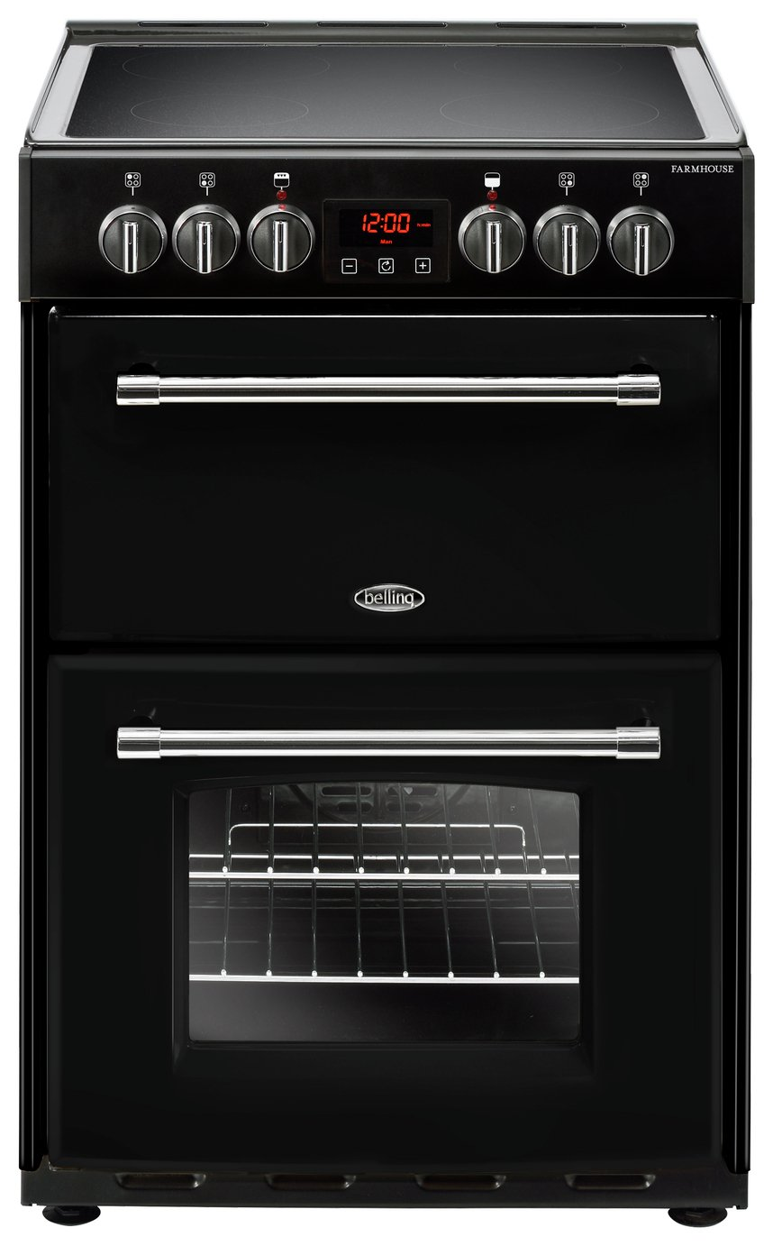 Image of Belling Farmhouse 60E Electric Cooker - Black