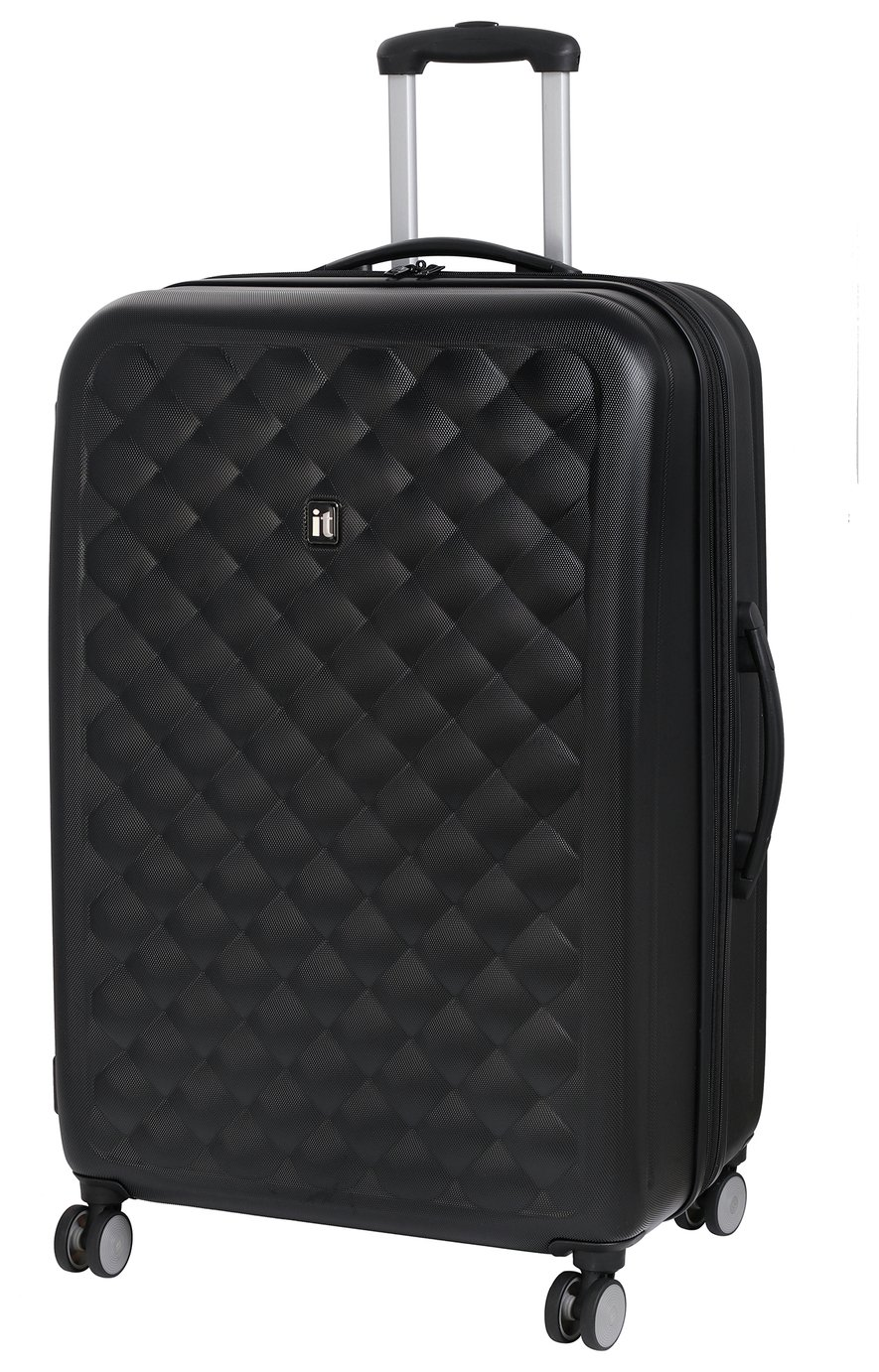 IT Luggage Large 8 Wheel Suitcase - Moonless Night