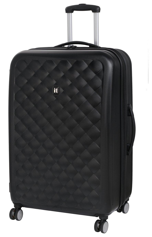 IT Luggage Large 8 Wheel Suitcase - Moonless Night