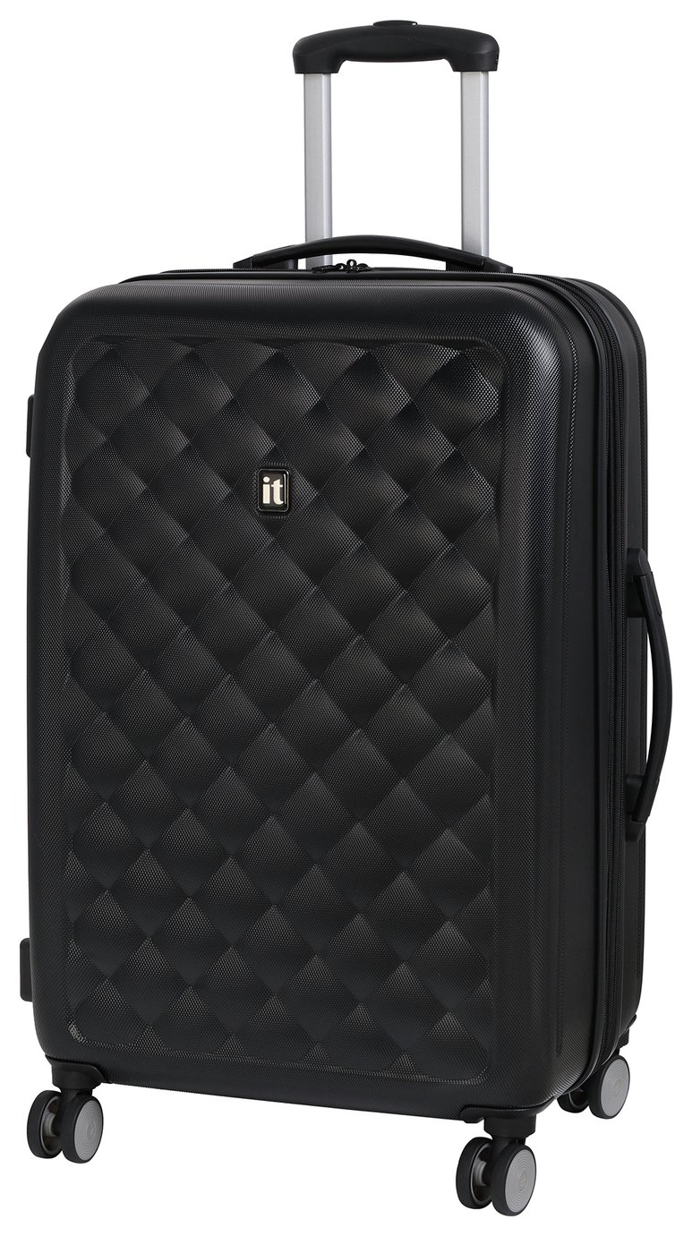IT Luggage Medium 8 Wheel Suitcase - Moonless Night