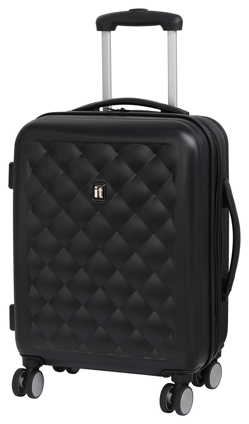 IT Luggage Small 8 Wheel Suitcase - Moonless Night
