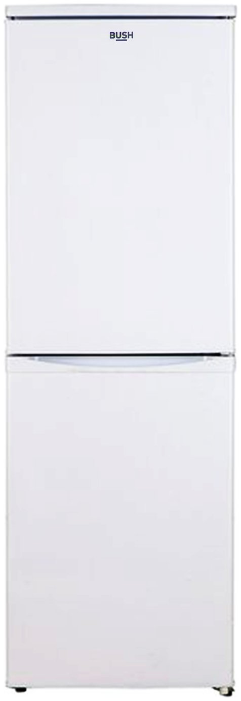Bush M50152SW Fridge Freezer - White Best Price, Cheapest Prices