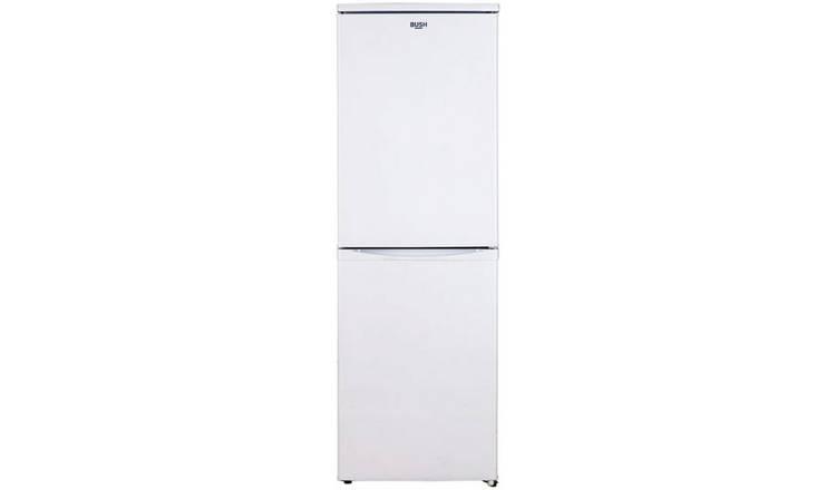 Buy Bush M50152sw Fridge Freezer White Fridge Freezers