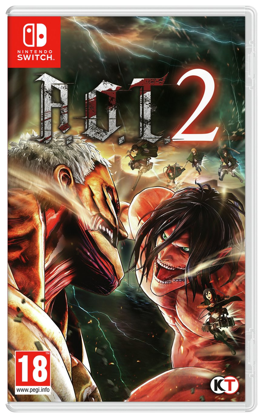 Image of Attack on Titan 2 Nintendo Switch Game