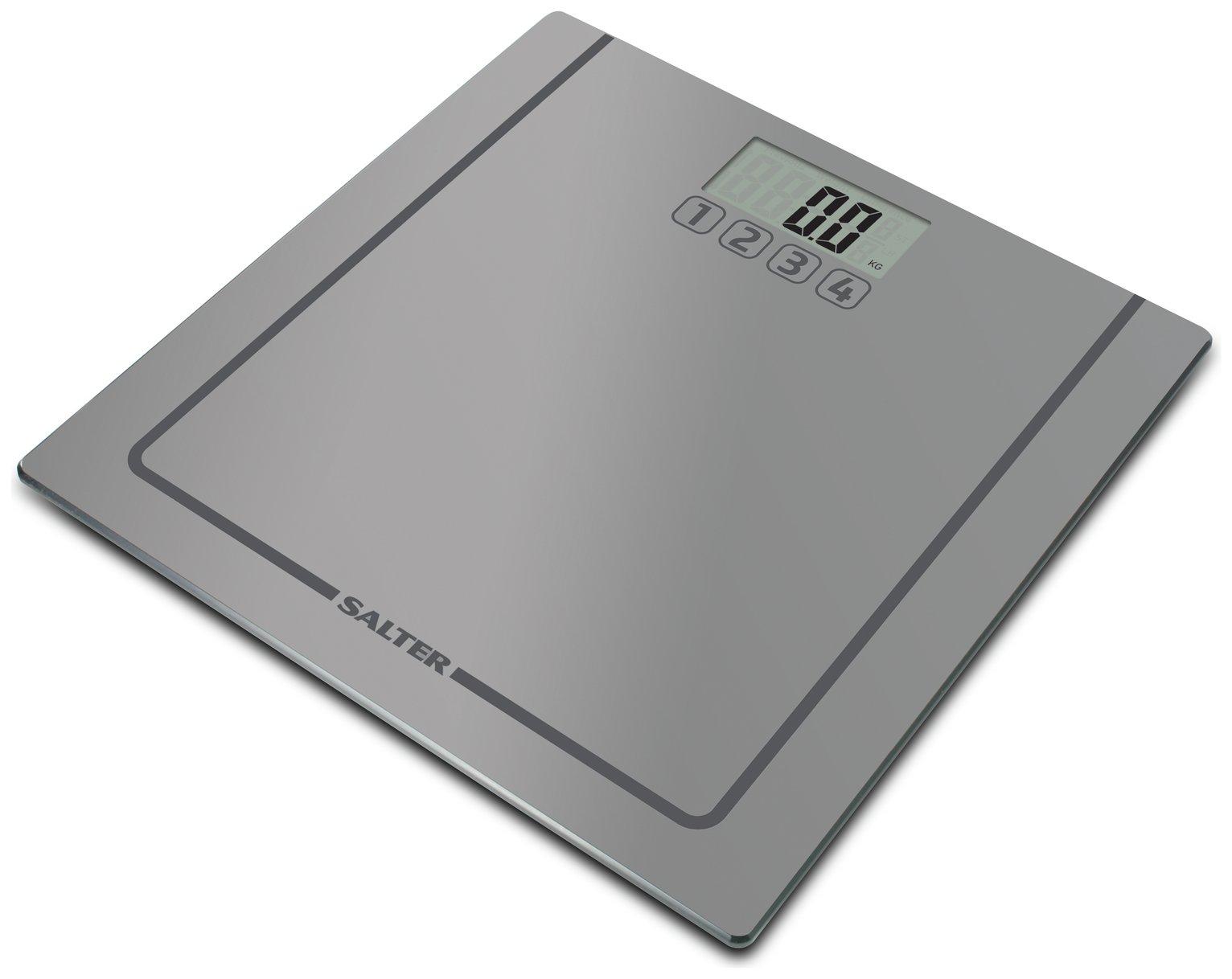 Salter Memories Bathroom Electronic Scale - Silver