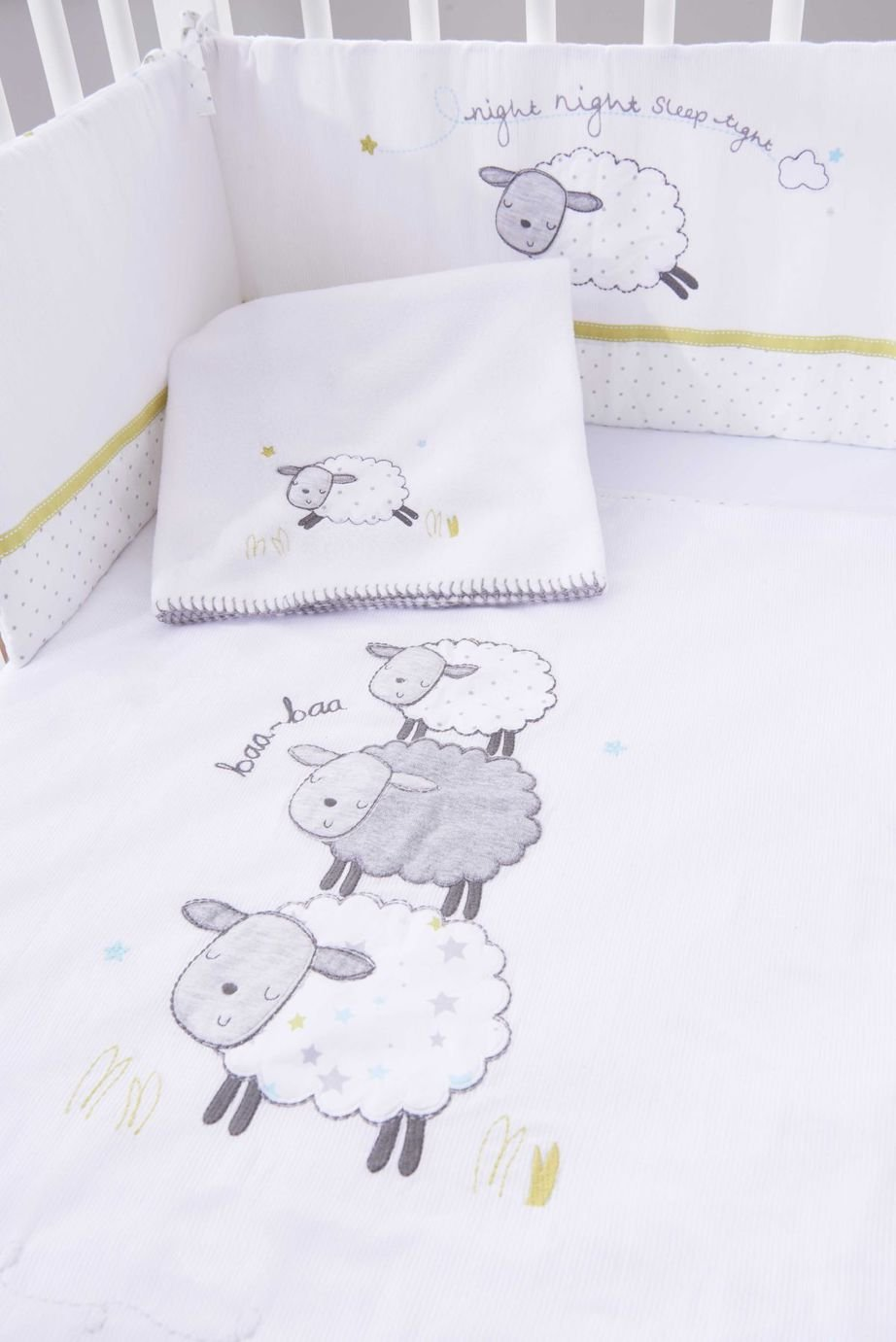 Counting Sheep 4 Piece Bedding Set