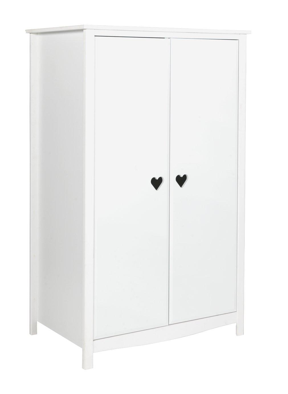 Image of Collection Mia Short Wardrobe - White