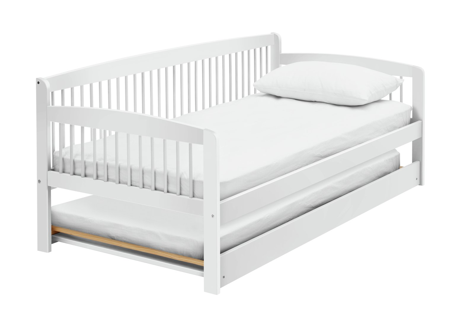 Argos Home Andover Wooden Day Bed and Trundle - White