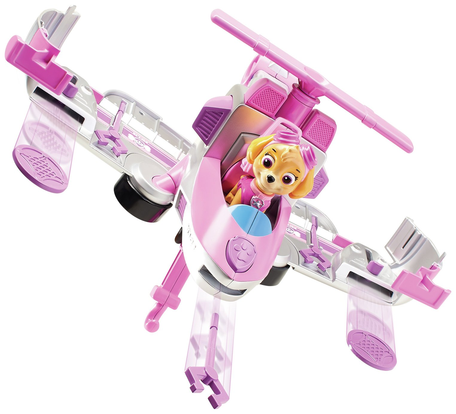 PAW Patrol Skye Flip & Fly Transforming Vehicle