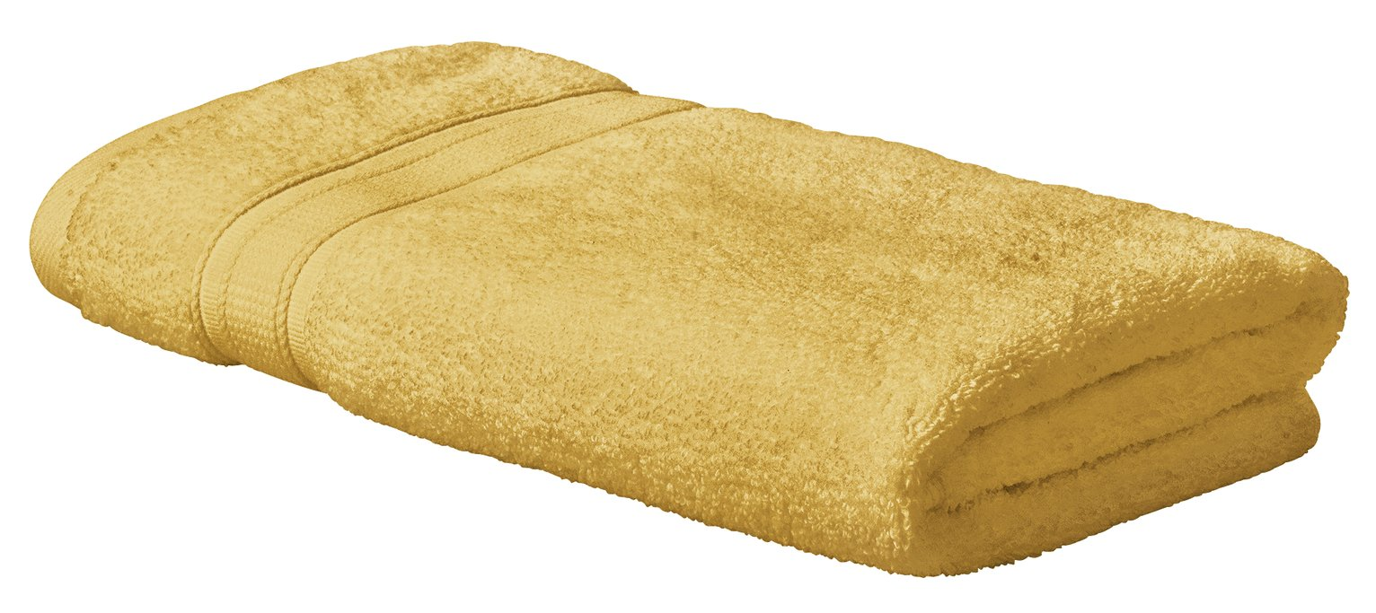 Argos Home Super Soft Hand Towel - Mustard