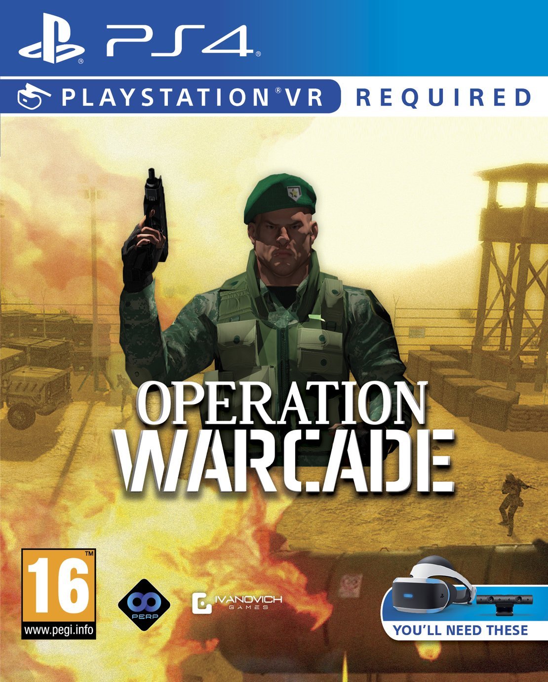 Operation Warcade PS VR Game (PS4)