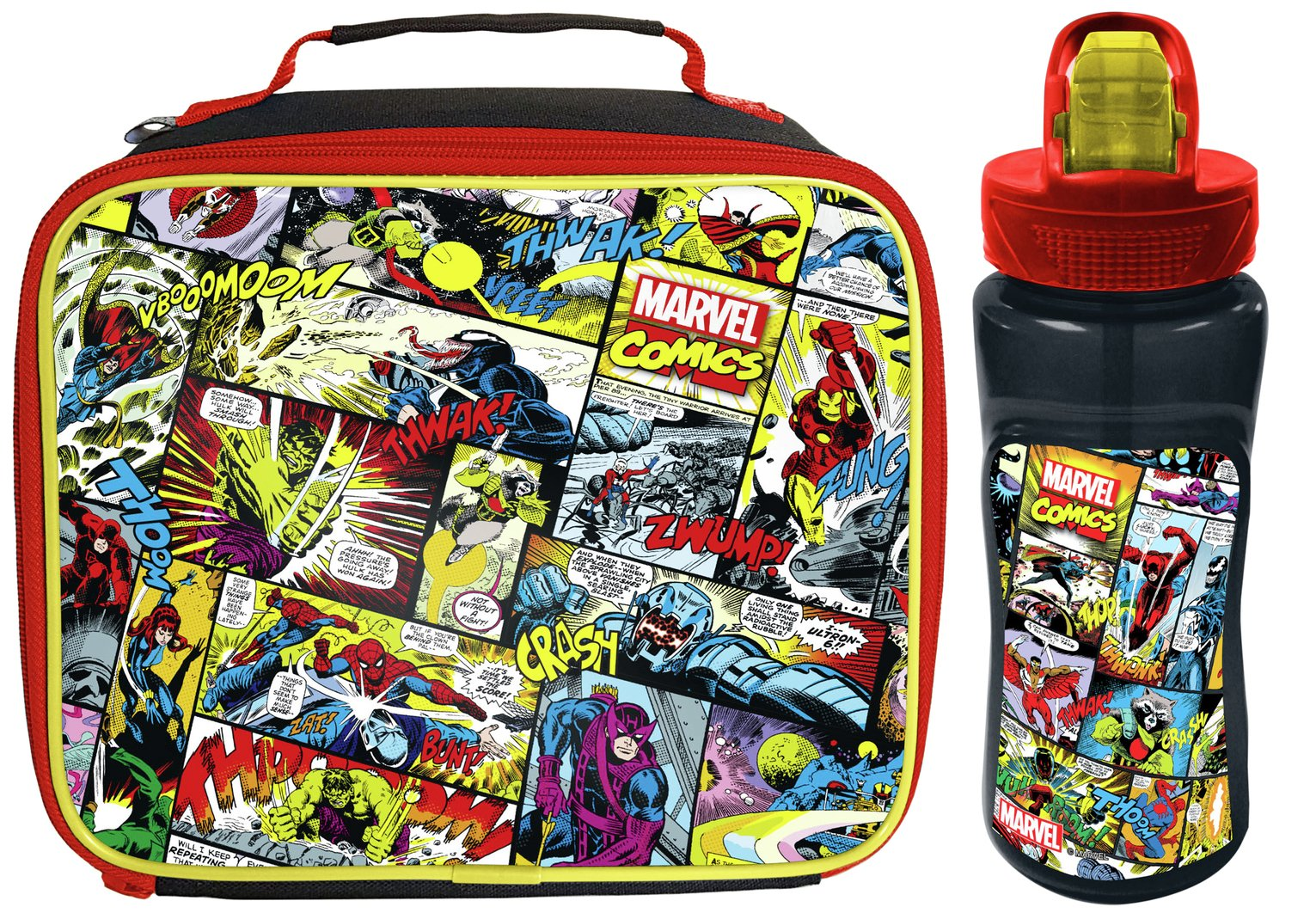 Image of Avengers Lunch Bag and Bottle