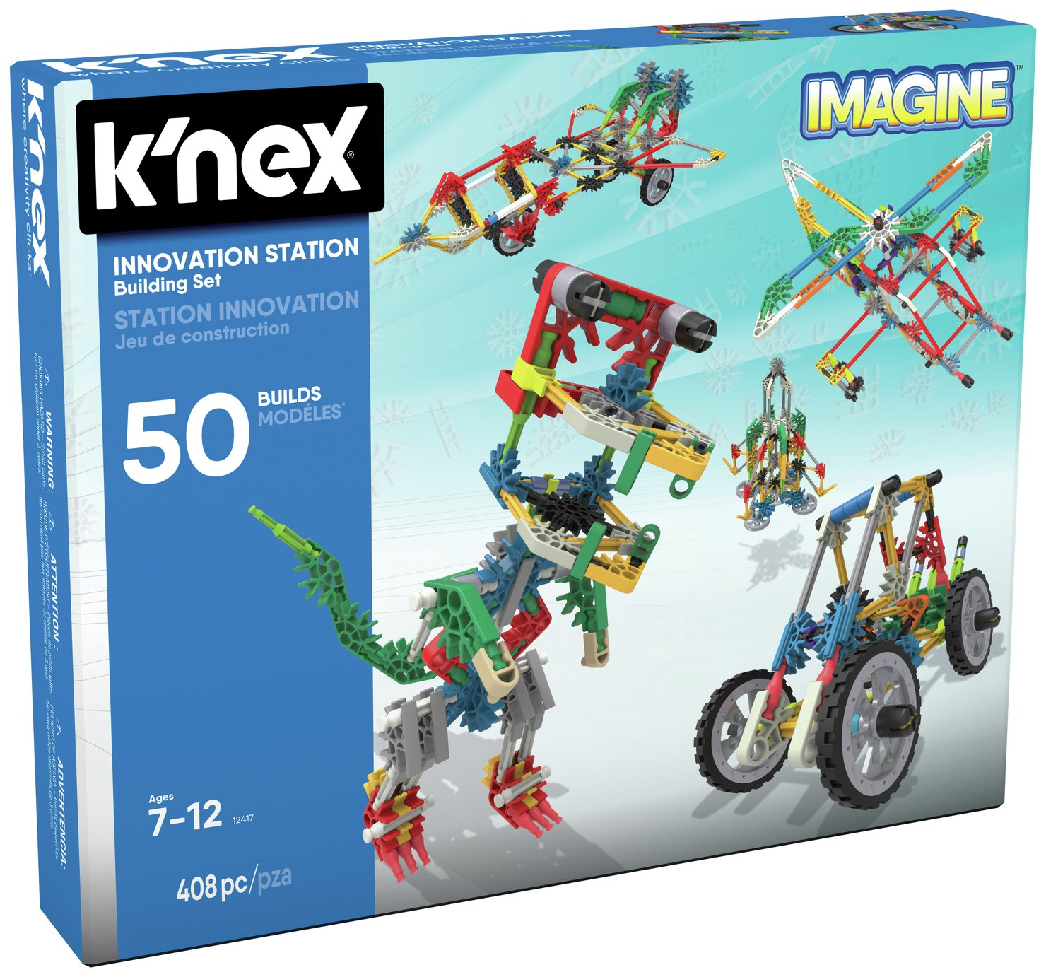K'NEX Innovation Station Building Set