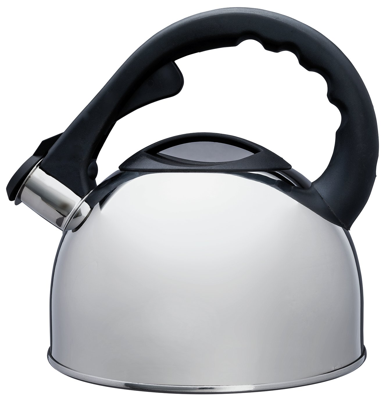 Argos Home Polished Stainless Steel Stove Top Kettle