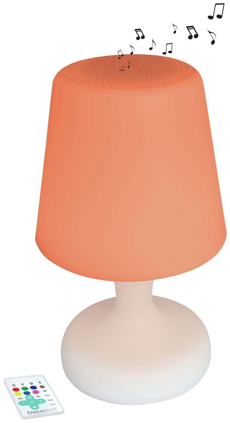 Decotech Colour and Sound LED Table Lamp