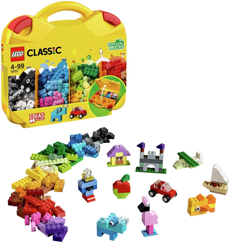 LEGO Classic Creative Suitcase, Lego Master Fan Gift   10713