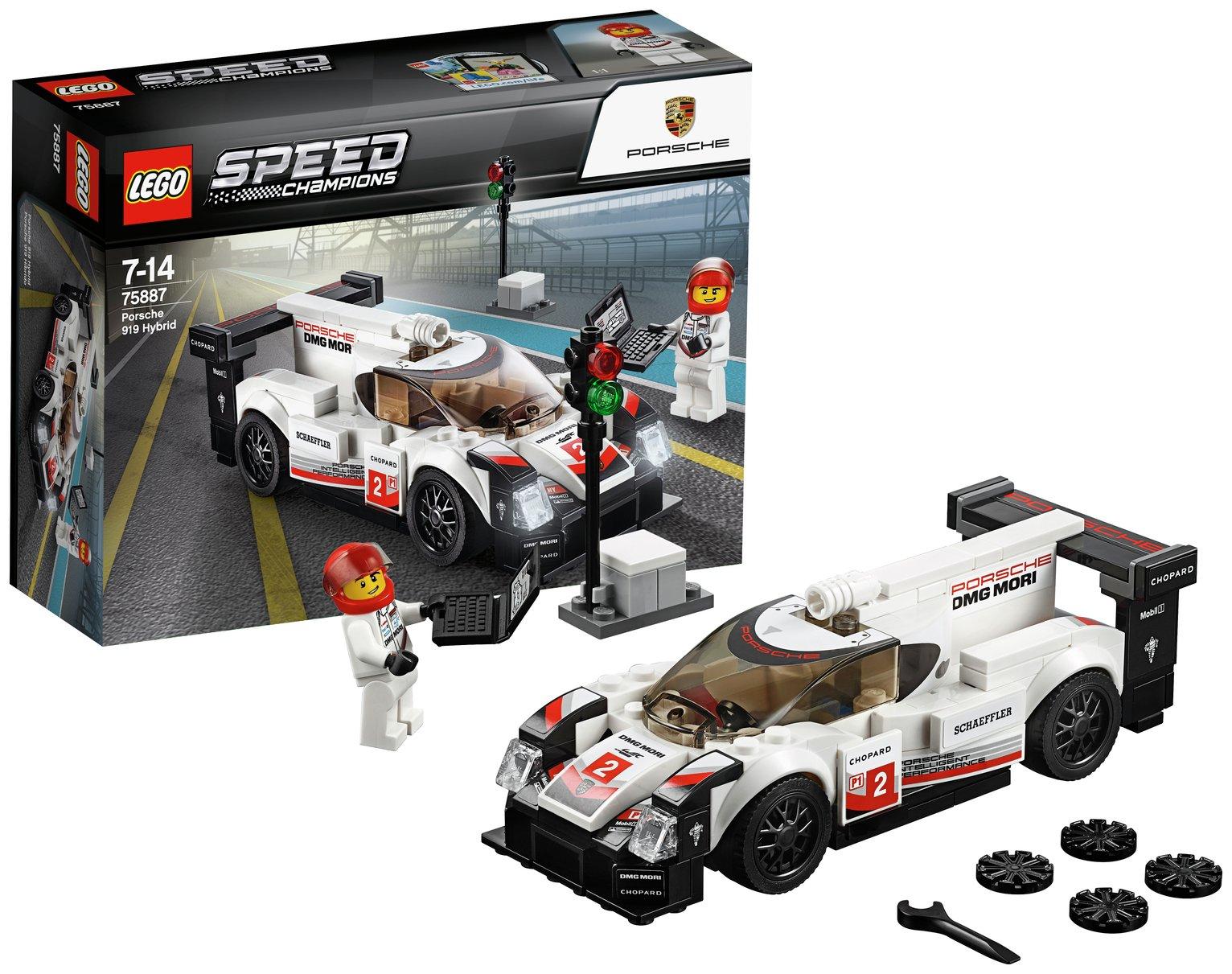Image of LEGO Speed Champions Porsche 919 Hybrid - 75887