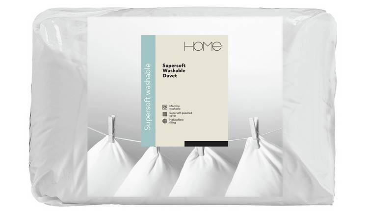 Argos Home Supersoft Washable 13.5 Tog Duvet - Kingsize
