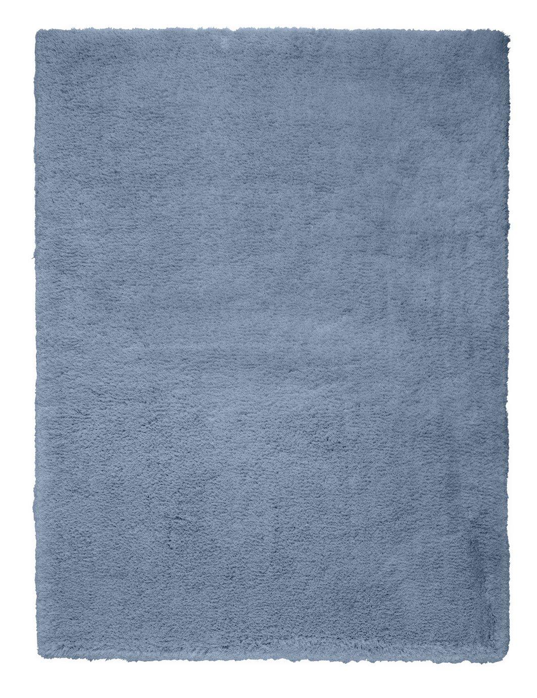 Argos Home Snuggle Shaggy Rug - 160x120cm - Dusk Blue