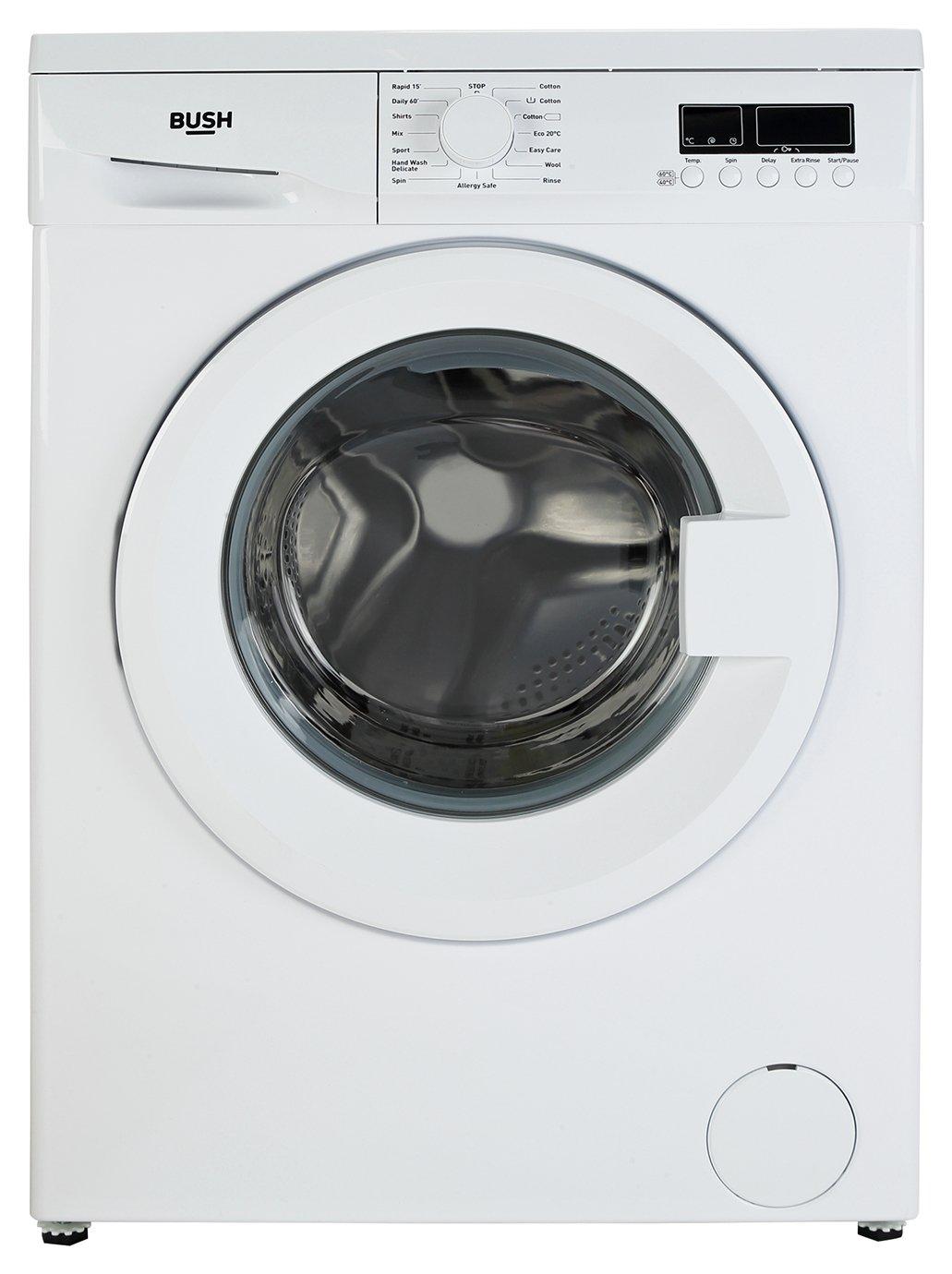 Image of Bush WMDF914W 9KG Washing Machine - White