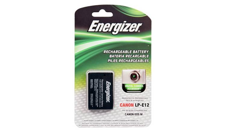 Energizer ENB-CE12 Camera Battery for Canon LP-E12