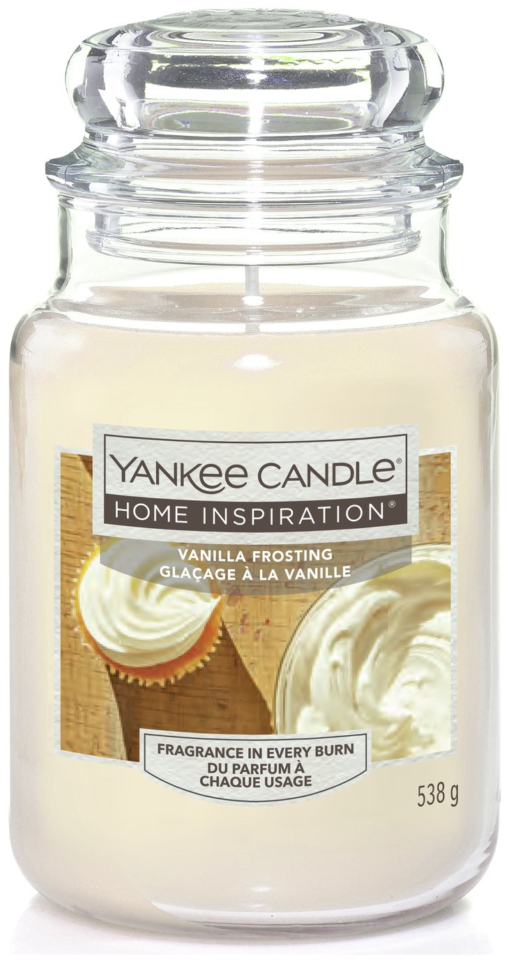 Image of Yankee Candle Large Jar Candle - Vanilla Frosting