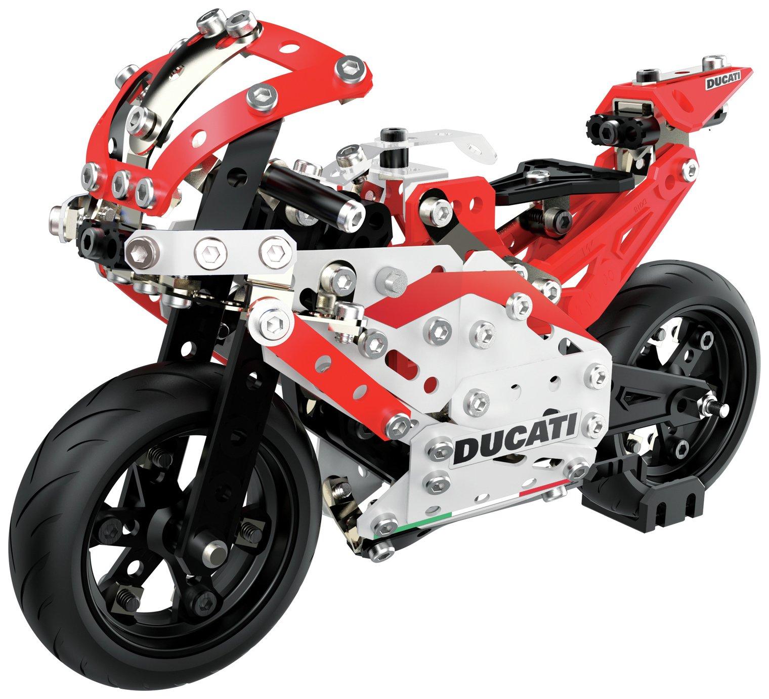 Meccano Ducati Moto GP Bike