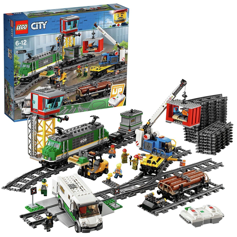 Image of LEGO City Cargo Train - 60198