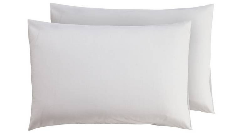 Argos Home Standard Pillowcase Pair