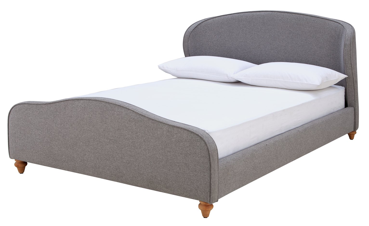 Argos Home Beauford Double Bed Frame - Grey