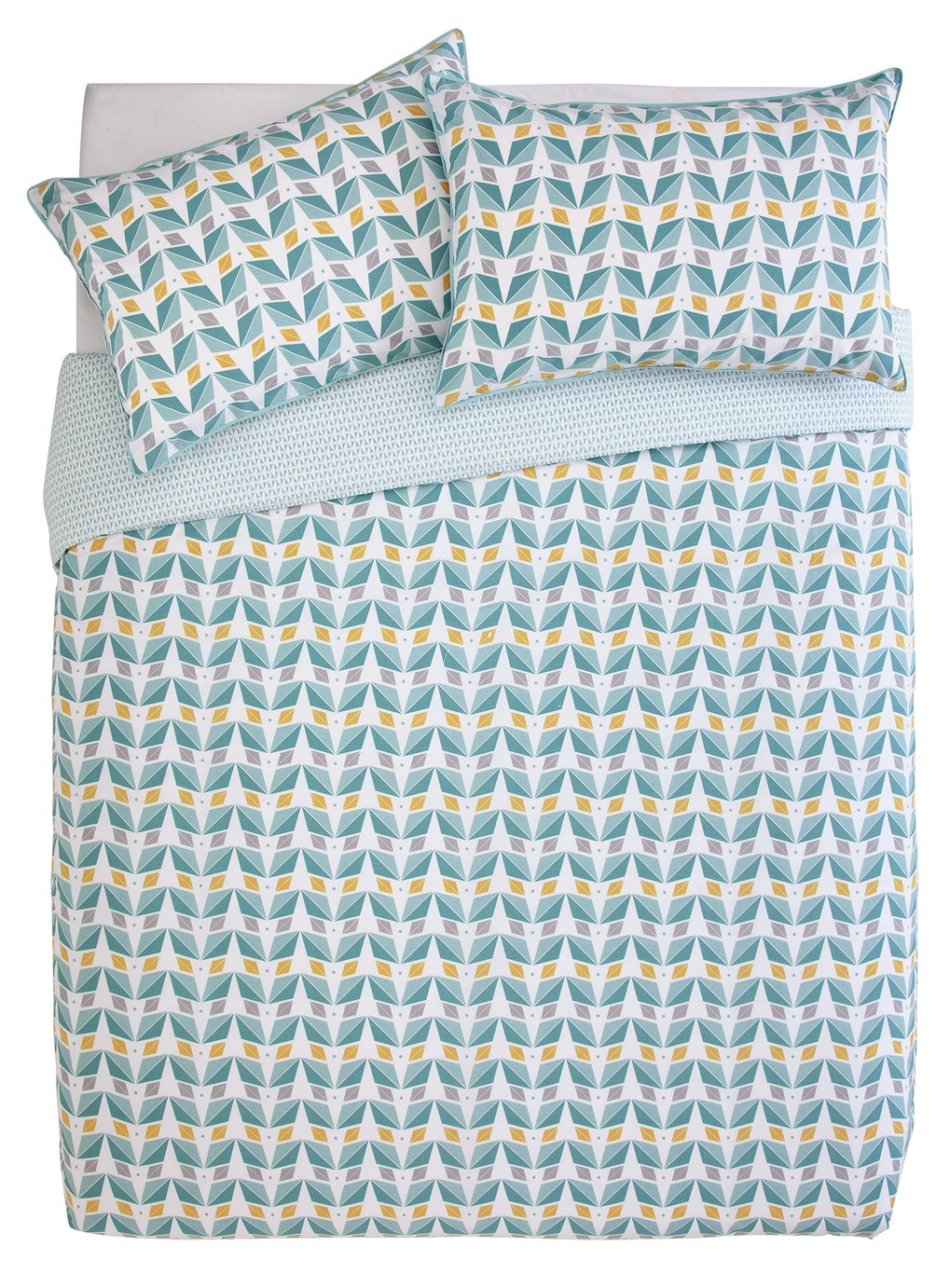 Argos Home Newstalgia Retro Bedding Set - Double