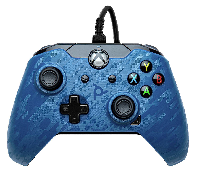 Camo Xbox One Controller - Blue