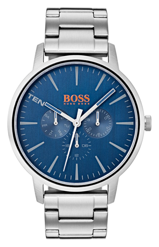 Boss Orange Copenhagen Men's Silver Steel Watch