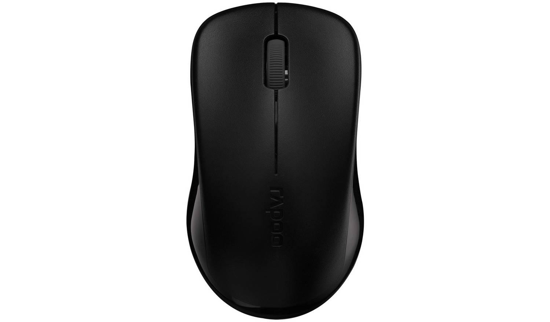 Rapoo 1620 Wireless Optical Mouse - Black