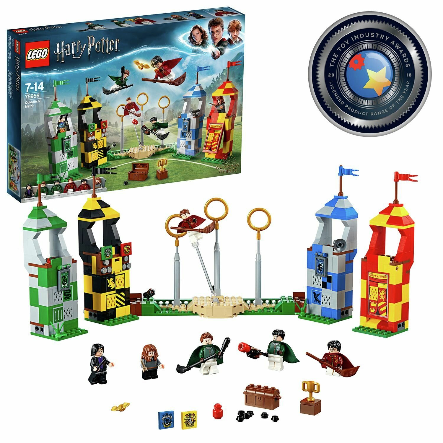 LEGO Harry Potter Quidditch Match Building Set - 75956