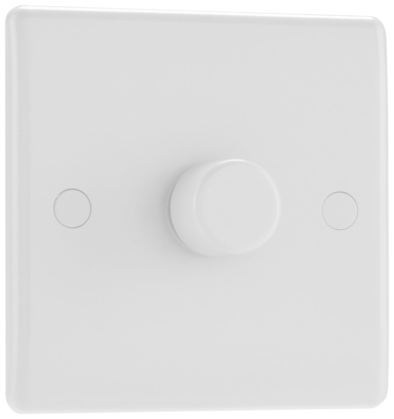 BG Single 2 Way Dimmer Switch - White