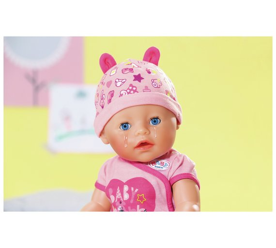 746205b89 Baby Born Soft Touch Girl Doll Cry Real Tears