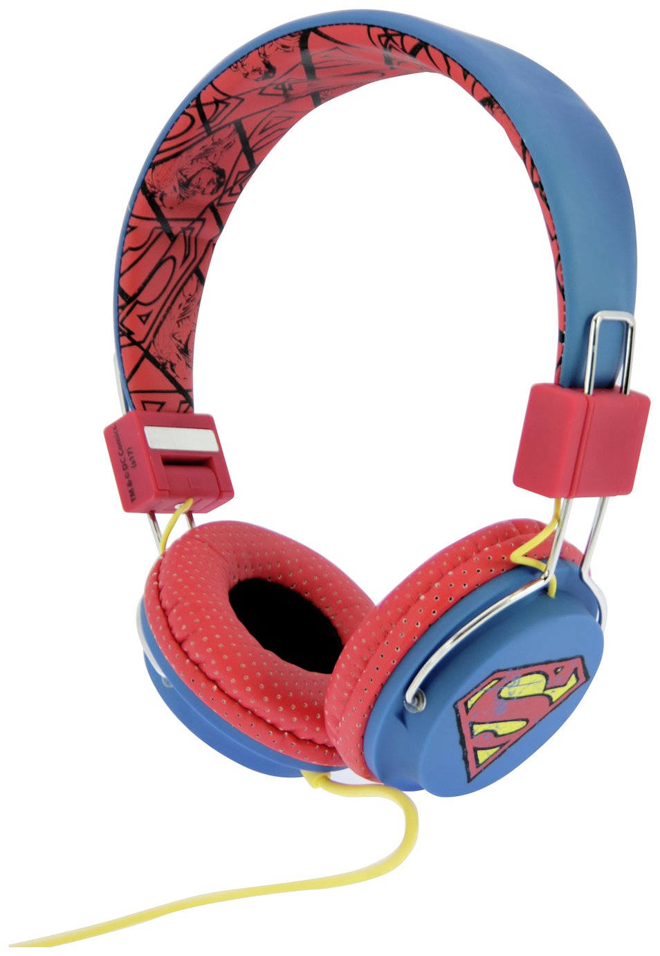 Vintage Superman Tween On-Ear Headphones - Blue