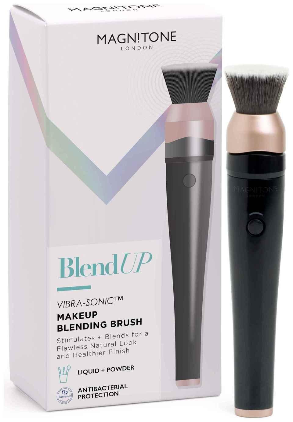 Magnitone Blend Up Vibra-Sonic Makeup Blending Brush - Black