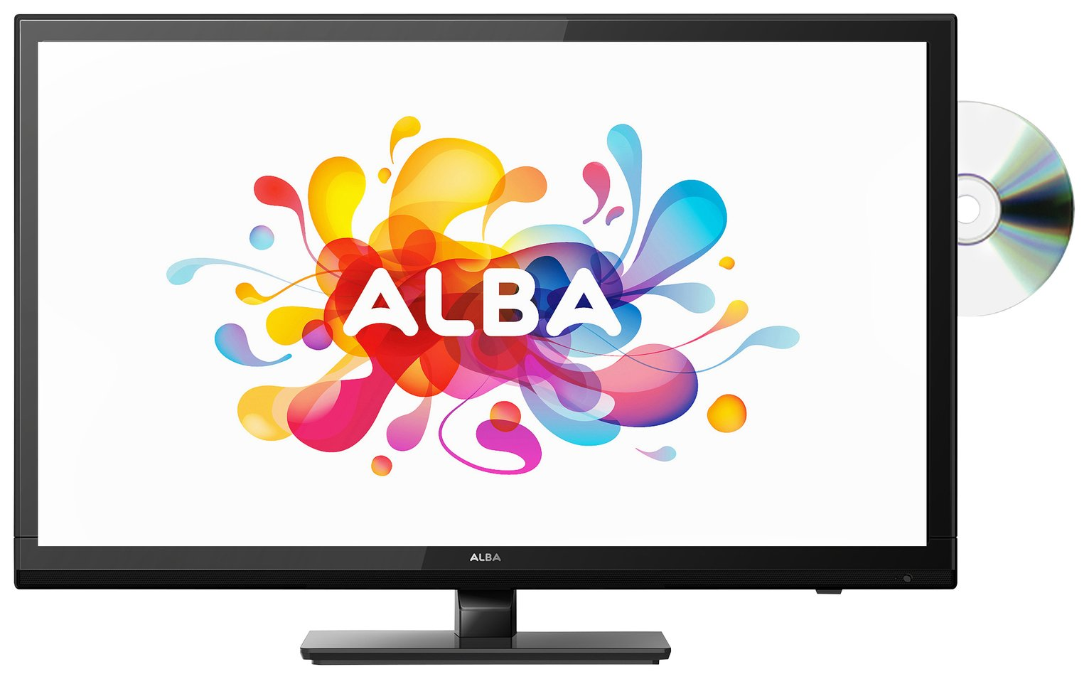 Alba 24 Inch HD Ready TV/ DVD Combi