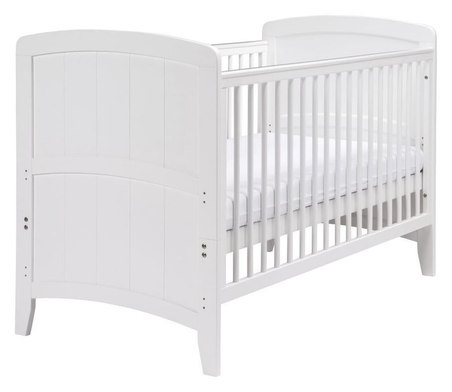 Venice Cot Bed - White