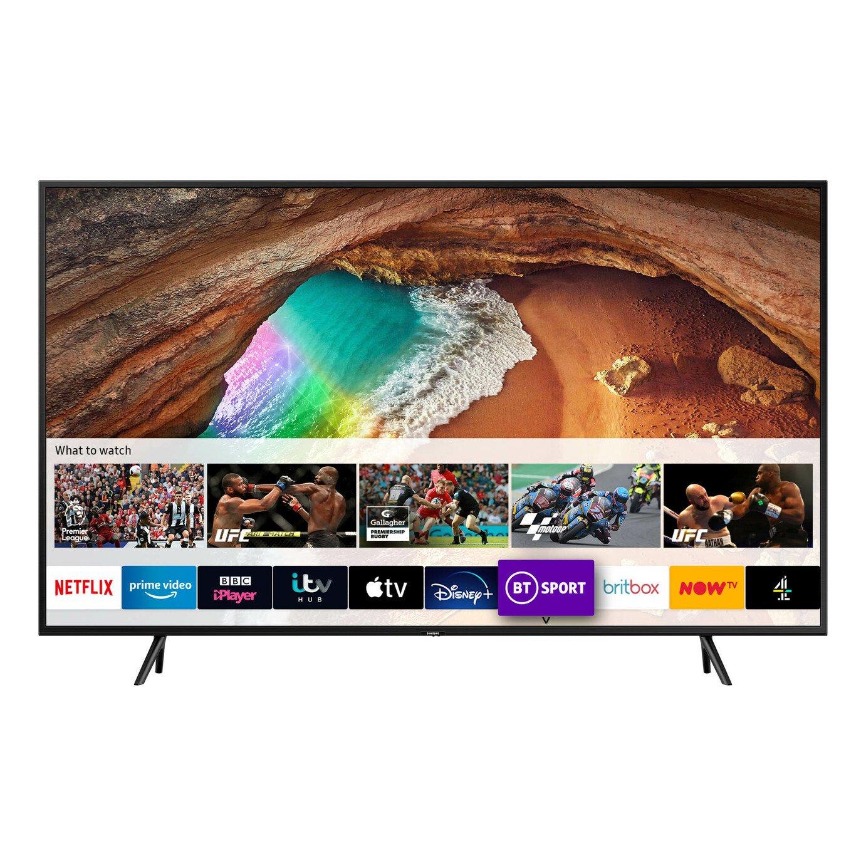 Samsung 65 Inch Q60 QE65Q60RATXXU Smart 4K HDR QLED TV