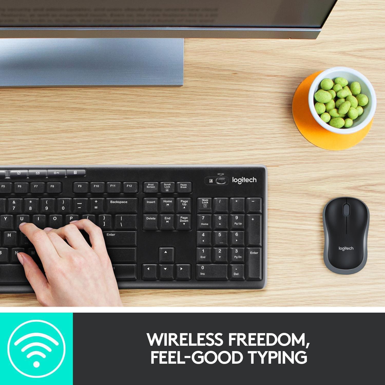 Buy Logitech Mk270 Wireless Mouse And Keyboard Pc Keyboards Argos
