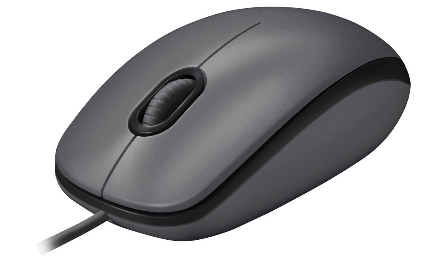 Logitech M100 Wired Mouse - Black