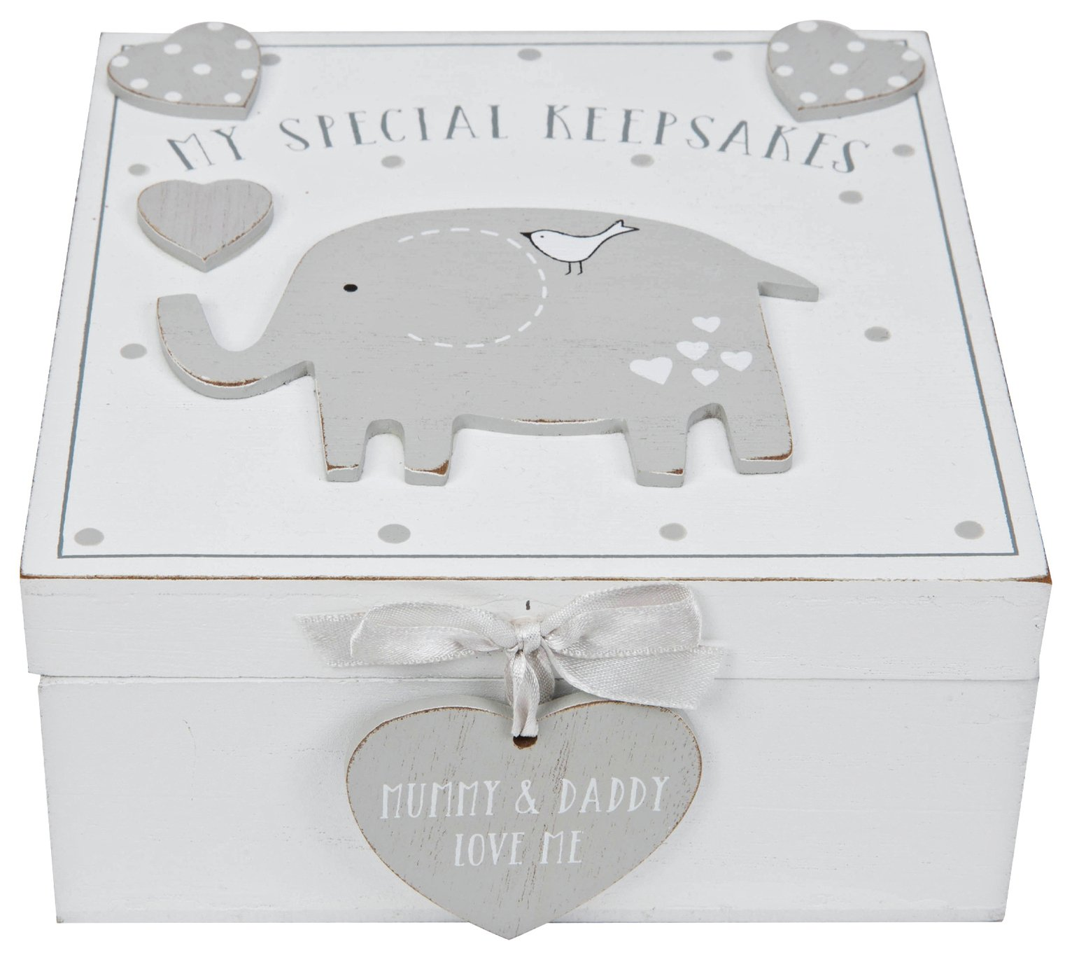 Petit Cheri Baby Elephant Keepsake Box