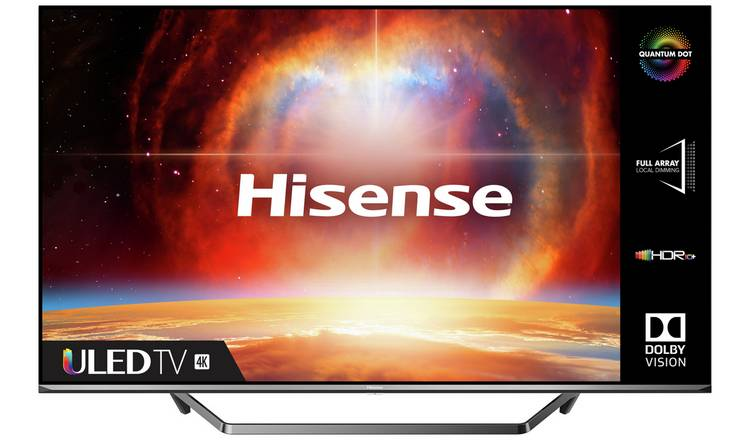 Hisense 55U7QFTUK 55 Inch Smart 4K UHD QLED Freeview TV
