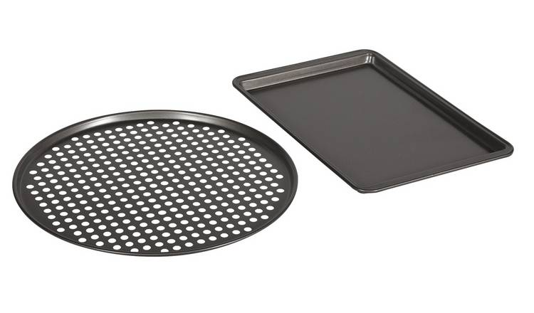 Argos Home Oven Tray and Pizza Pan