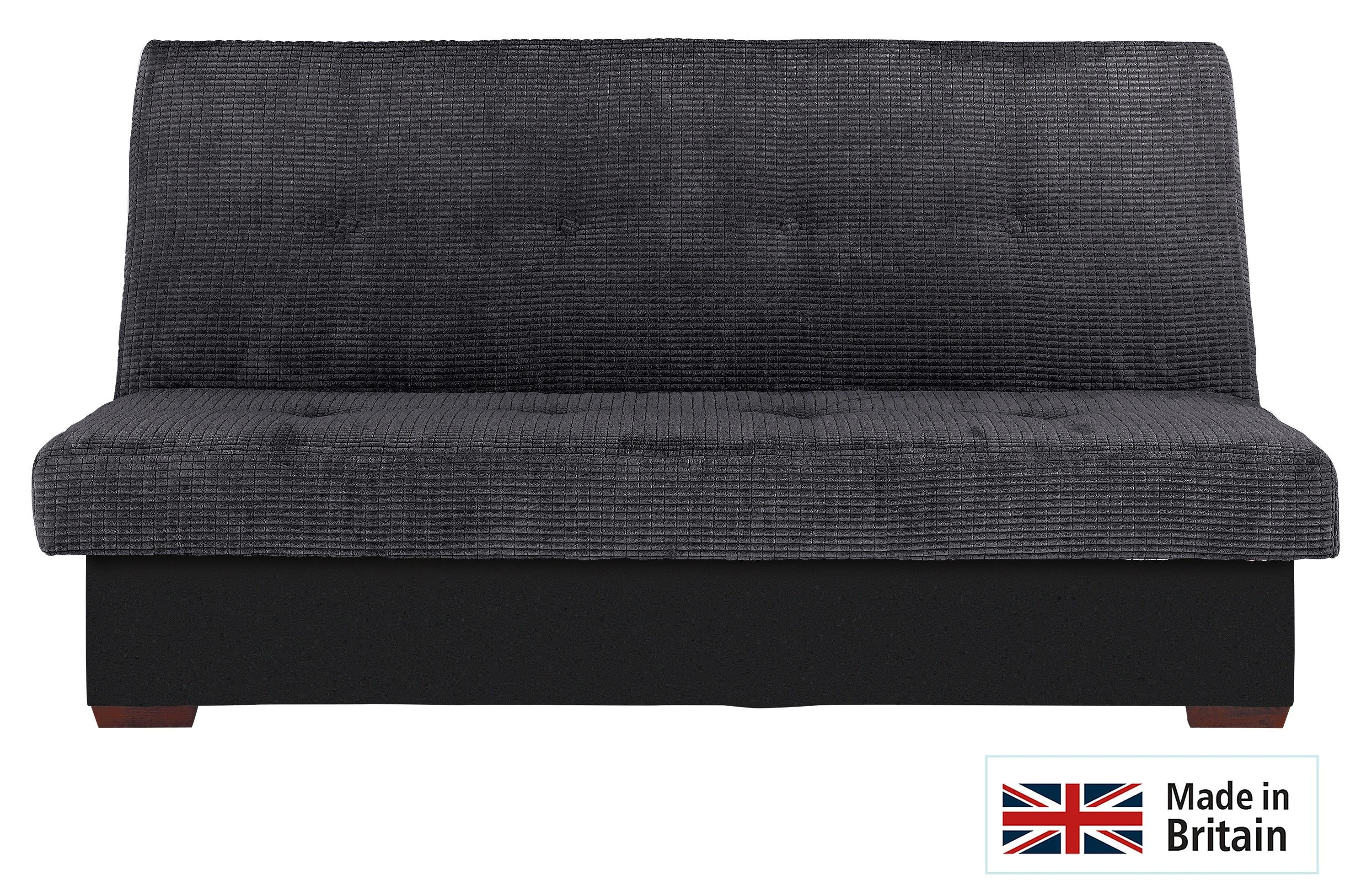 Collection Victoria 2 Seater Storage Sofa Bed   Charcoal