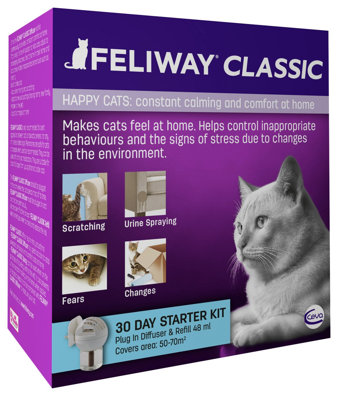 Image of Feliway Classic 30 Day Starter Kit
