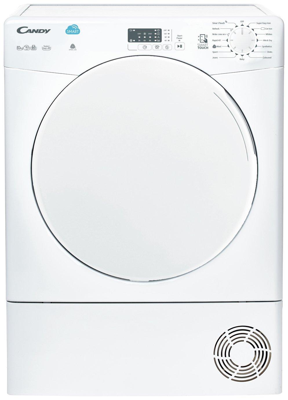 Candy CSC10LF 10KG Sensor Dry Condenser Tumble Dryer - White